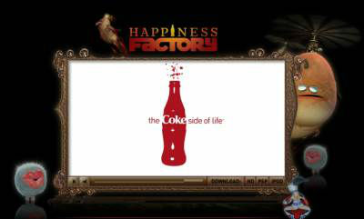 Happiness Factory von CocaCola