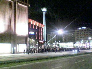 Media Markt gegen 23 Uhr