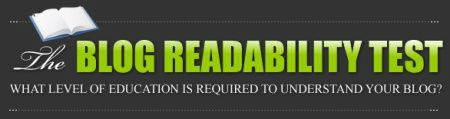 Blog Readability Test (Logo)