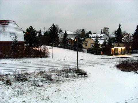 Guten Morgen Berlin (25.November 2007) mit Schnee