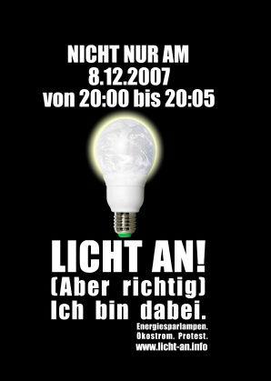 Lich an! (Poster)