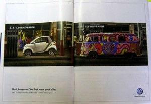 Volkwagen Werbung gegen Smart
