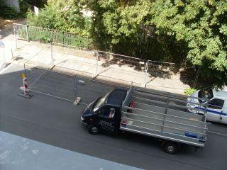 Baustellen-Parkplatz