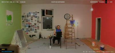 Die Wohnung von Nils ist nun bunt