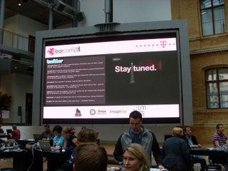 BarCamp Berlin 3: Twitterwall