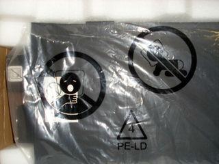 Anweisungen auf der Verpackung