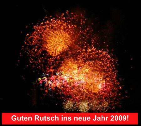 Feuerwerk - Guten Rutsch ins neue Jahr 2009!