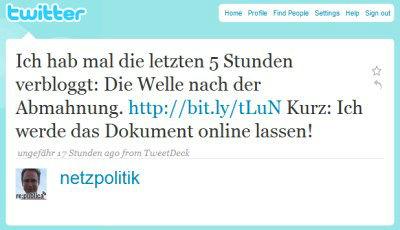 Netzpolitik twitter wie es weitergeht
