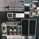 Anschlüsse vom Panasonic Full HD LCD-TV TX-L32GW10