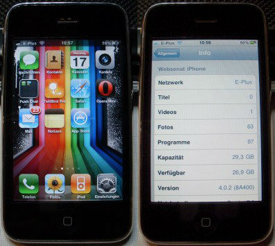 Mein iPhone 3GS 32GB Black