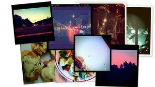 Fotocollage von Instagram