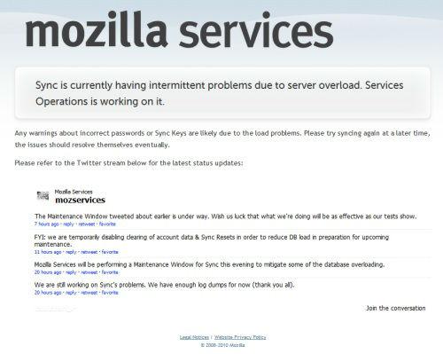 Mozilla Firefox Sync