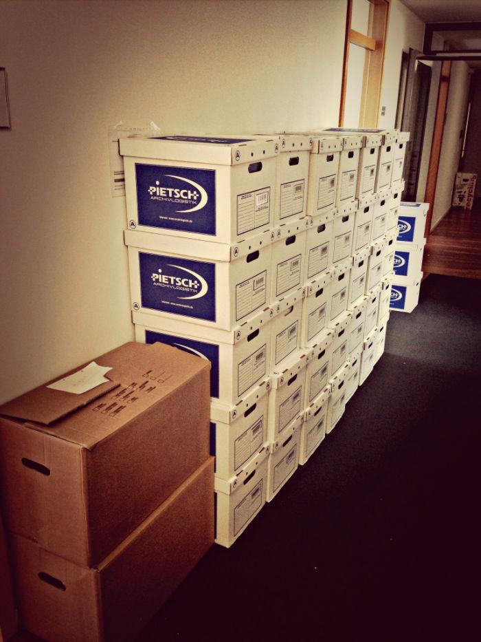 45 Kartons gepackt #dapd #t-4