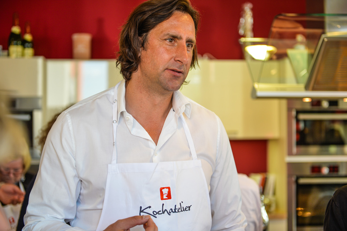 Christian Schenk im Kochatelier Berlin-Adlershof