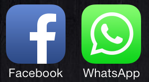 Facebook & Whatsapp Logo
