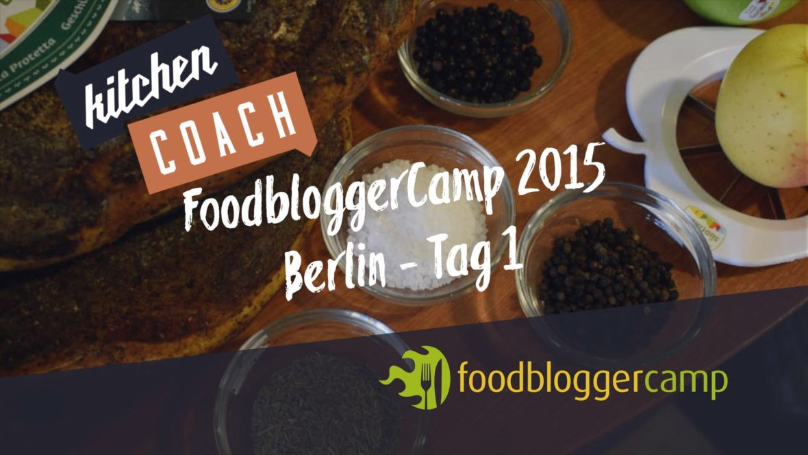 Kitchencoach Video FoodBloggerCamp2015